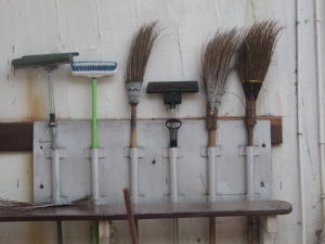 The most organized broom holder ever