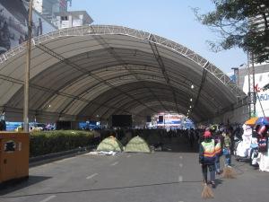 Empty protest