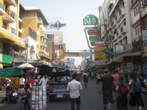 Khao San road in the day