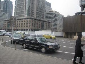 I was surprised at the age of the taxi fleet in Tokyo