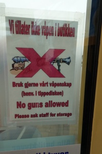 No guns in the grocery store