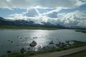 1100 meters in Norway's mountains