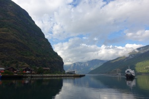 The fjord near Flam