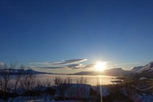 Sunrise in Bjorkliden