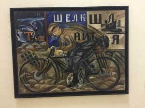 Famous russia bicycle art