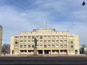 A soviet building in SPB