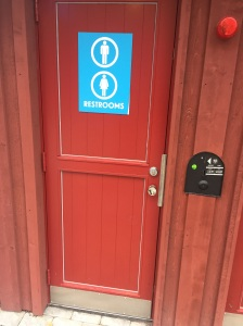 You have to pay for most bathrooms in Stockholm.  That means if you see a free one try to use it