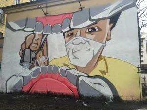 This was random street art