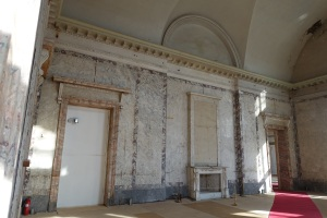 Unrestored palace room