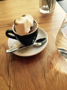 Yummy, yummy, yummy, the richest hot chocolate ever, you needed the spoon once it cooled down a tad