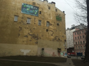 Most of SPB in the city center has a nice front, but work is needed everywhere
