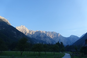 Last view of Logarska Valley