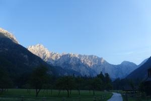 Last view of Logarska Valley