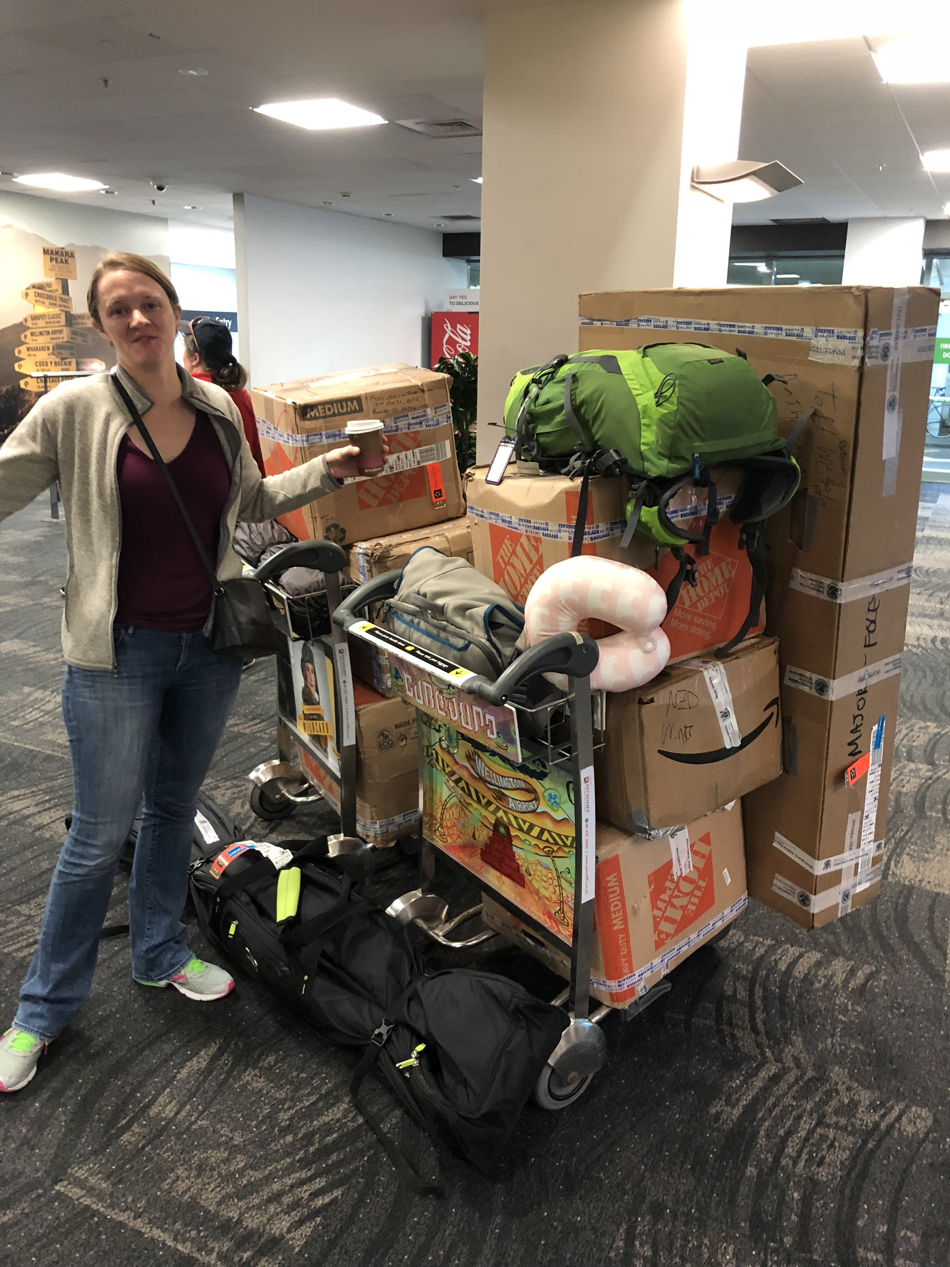luggage in Wellington